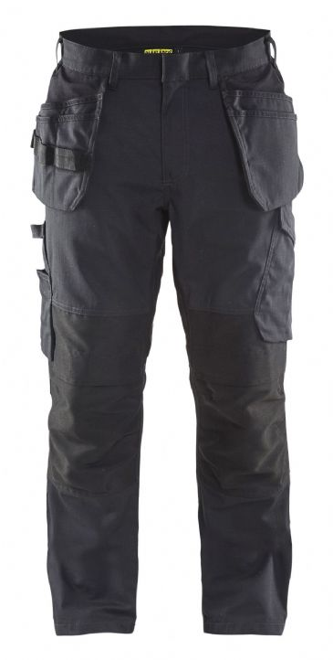 Blaklader 1496 Stretch Service Trousers (Black/Dark Grey)